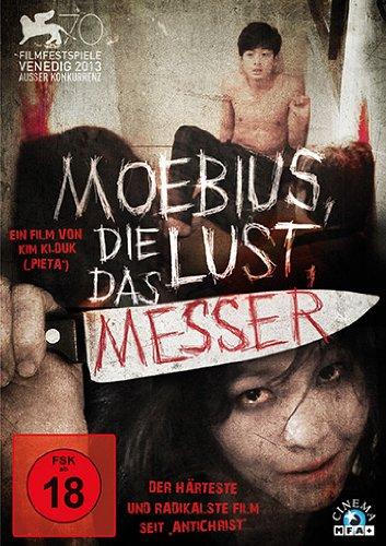 Moebius, die Lust, das Messer, DVD