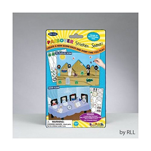Passover Sticker Scene with Reusable Stickers - 1