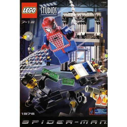 Lego Spider-Man #1376 Spider-Man Action Studio Amazon.com