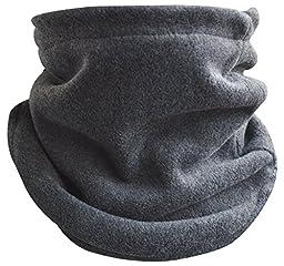 Octave Unisex Gray Muti Function Fleece Neck Warmer