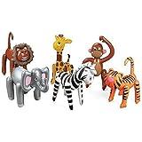 amazoncom 12 animal print balloons lion tiger cheetah