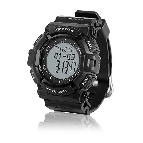 Peleustech® Spovan Blade-Iv Military/Climbing/Ski Digital Sports Watch W/Altimeter Barometer Thermometer
