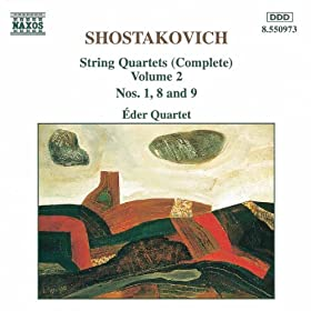 Shostakovich: String Quartets Nos. 1, 8 And 9