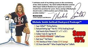 JUGS Michele Smith Softball Backyard Package by Jugs