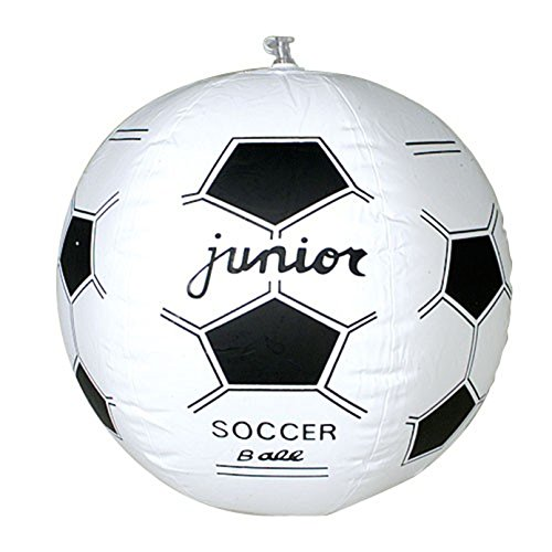 One Inflatable Soccer Futbol Design Beach Ball - 1