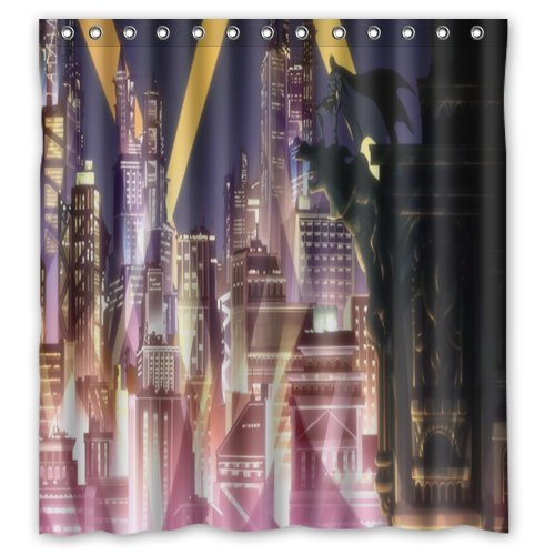 Batman Gotham Knight City Shower Curtain