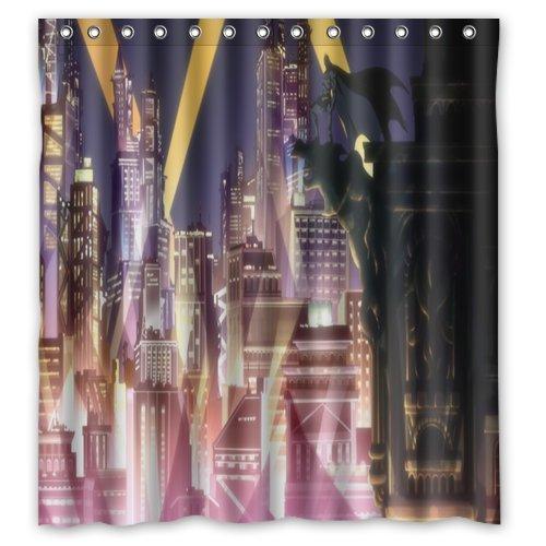 Batman Gotham Knight City Shower Curtain