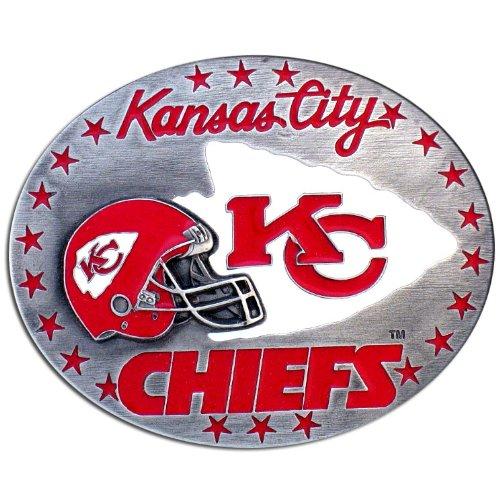 NFL Kansas City Chiefs Belt Buckle