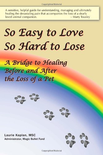 So Easy to Love, So Hard to Lose: A Bridge to Healing Before and After the Loss of a Pet