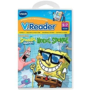 Selected V.Reader Cartridge - SpongeBob By Vtech Electronics
