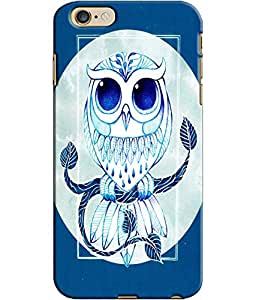 EU4IA Owl Pattern MATTE FINISH 3D Back Cover Case For iPhone 6 - D183
