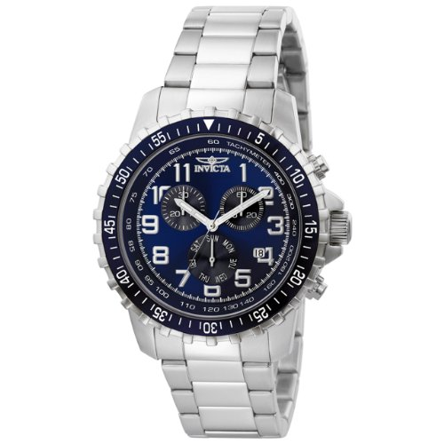 Invicta Men's 6621 II Collection Chronograph Stainless Steel Blue DialWatch