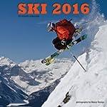 Ski 2016 Square 12x12 Wall Calendar
