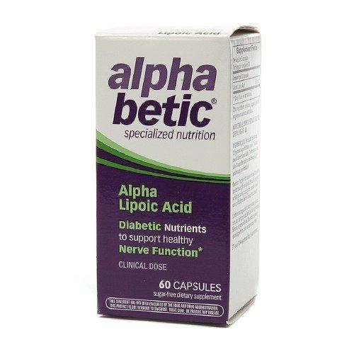 Alpha Betic Alpha Lipoic Acid Capsules - 60 Ea (4 Pack )