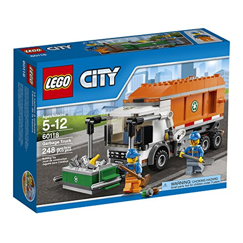 lego city garbage truck 60118 instructions