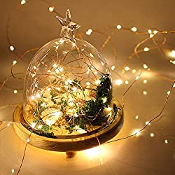 String Lights, 3 Sets 20 LEDs Battery Operated Fairy Lights Thin Copper Wire 7.2 Ft For Wedding Home and Party Decorations Indoors and Outdoor