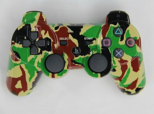 3CLeader® Wireless Controller for PS3 PlayStation 3 camouflage #1 oem playstation 3 ps3 2 4 wirless ps2 wireless controller