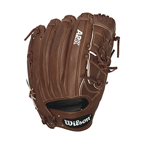 Wilson 2016 A2K B212 Pitcher Baseball Glove, Walnut White Logos, Right Hand Thrower (Pitcher Baseball Glove compare prices)
