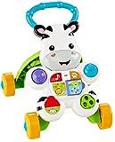 Mattel Fisher-Price DLD94 Lern mit mir - Zebra Lauflernwagen