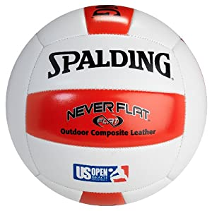 Buy Spalding Never Flat Composite Volleyball by Spalding