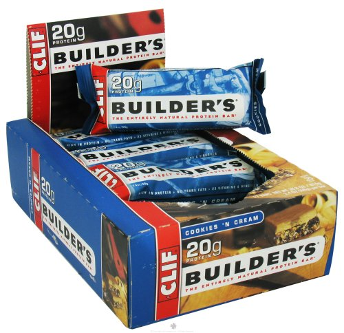 Clif Bar - Builder'S Protein Crisp Bar Cookies 'N Cream - 2.4 Oz.