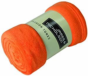 James & Nicholson Couverture polaire microfibre Orange