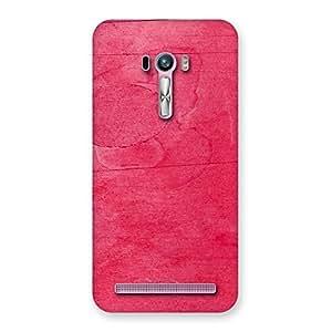 Delighted Pink Wood Work Multicolor Back Case Cover for Zenfone Selfie