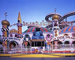 Maine's Old Orchard Beach Amusement Park Photograph - Beautiful 16x20-inch Photographic Print by Carol M. Highsmith