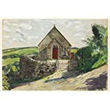 Bible Christian Chapel, Tremodrett, Roche, by A.J. Ruskin Spear (V&A Custom Print)