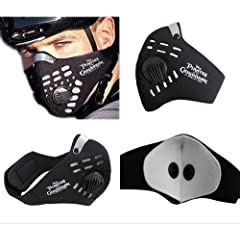 Buy Anti dust Motorcycle Bicycle Cycling Bike Ski Half Face Mask Filter by hercolor