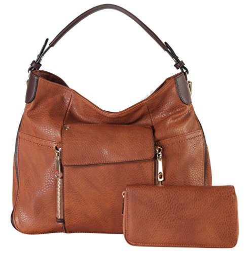 rimen-co-pu-leather-front-flap-pocket-large-hobo-with-wallet-2-pieces-set-womens-purse-handbag-hs-36