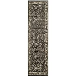 Safavieh Vintage Collection VTG117-330 Transitional Oriental Soft Anthracite Runner (2\'2\
