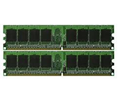 2GB 2x1GB Memory RAM for HP Compaq dc5100 Series DDR2 PC2-5300 (667MHz) (MAJOR BRANDS)