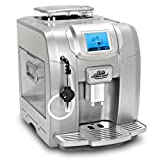 neues Modell 2013 / Kaffeevollautomat / Touchscreen / Wochentimer / 19 Bar / 2L Tank / CAFE BONITAS / SilverStar / Kaffeeautomat
