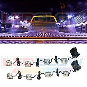 8pc Truck Bed LED Lighting Kit