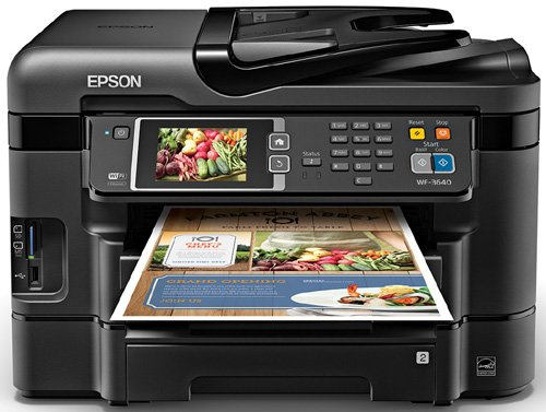 Great Features Of Epson WorkForce WF-3640 Wireless and WiFi Direct All-in-One Color Inkjet Printer, ...