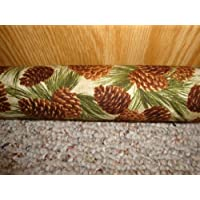 Balsam Draft Stopper Pine Cone Fabric Platinum Plus Series Large Style