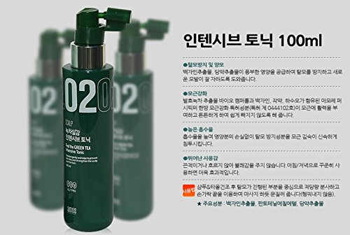 Amorepacific Amos Scalp Feel The Green Tea Intensive Tonic, Made In Korea, Kstyle, Anti Hair Fall