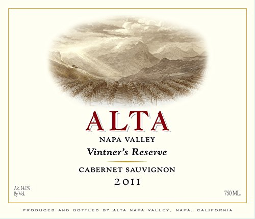 2011 Alta Napa Valley Reserve Cabernet Sauvignon 750 Ml
