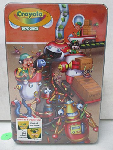 Crayola Collectors Tin 1978-2003 front-63154