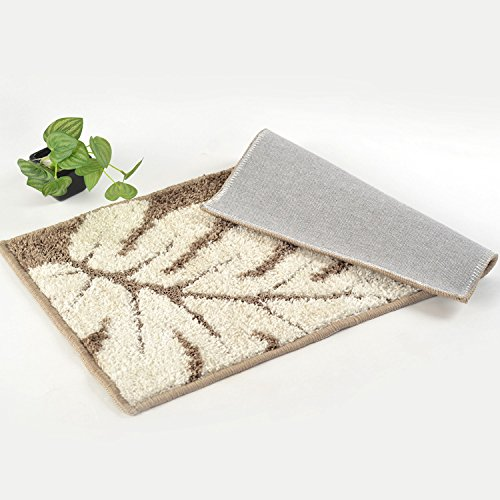 hdwn-die-halle-boden-matten-teppich-matte-groen-grnen-bltter-45-75-leaves-4575