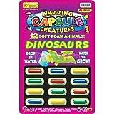 Amazing Capsule Creatures 12 Soft Foam Animals (drop in water) - 1pack