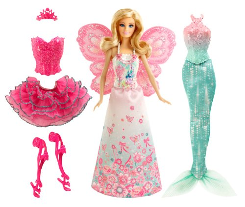 Barbie Fairytale Match Dress Playset