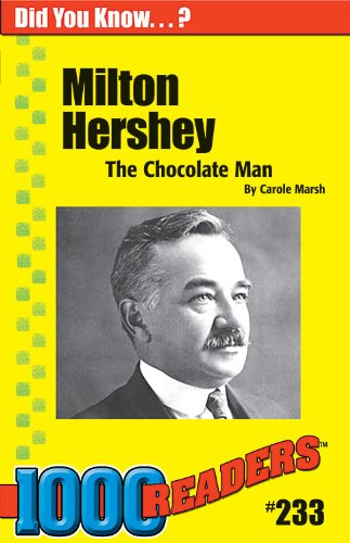 milton hershey the chocolate man Take the quiz: milton hershey: the man behind the kiss this quiz deals with questions about the life of the manufacturer of one of our most delightful sins.