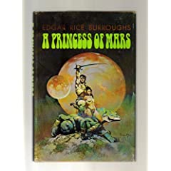 A Princess of Mars by Edgar Rice Burroughs and Frank Frazetta