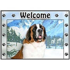 Saint Bernard Welcome Sign
