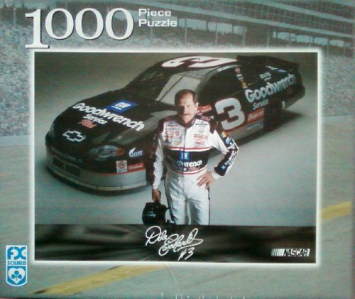 Picture of Fun FX Schmid NASCAR Dale Earnhardt #3 Race Car 81417 1000 Piece Puzzle (B002FP5BW0) (Jigsaw Puzzles)
