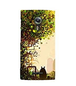 Printvisa Premium Back Cover Natures Beauty Design For Alcatel Onetouch Flash 2::Alcatel One touch Flash 2