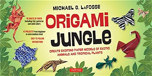 Origami Jungle Kit: Create Exciting Paper Models of Exotic Animals and Tropical Plants [Origami Kit with 2 Books, 98 Papers, 42 Projects] (You Can Toucan compare prices)