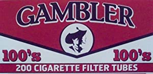 Gambler 100's Cigarette Filter Tubes